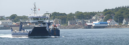 Brier Island Ferry going to Long Island