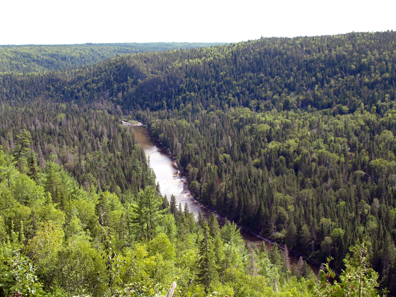 looking-down-in-Jacquet-river-Gorge-New-Brunswick-