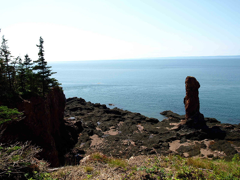 Sea-Stack-and-surrounding-rocks
