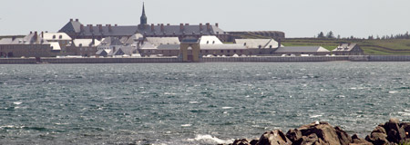 Fortress Louisbourg across the water