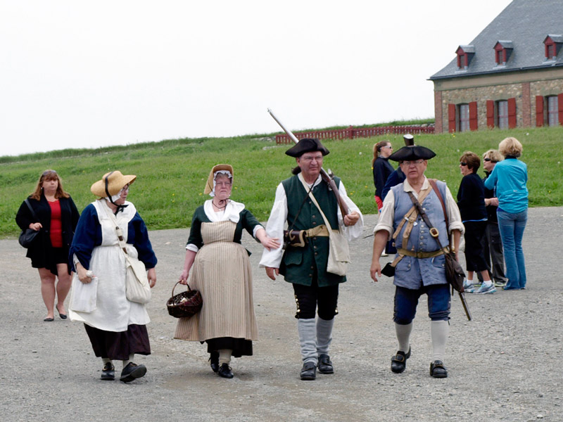 costumed-guides-Fortress-Louisbourg-NS