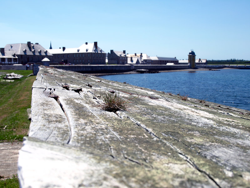 walls-at-Fortress-Louisbourg-Natiional-historical-Museum-NS