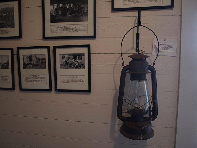 Artifacts-in-the-museum-Gilberts-Cove-Lighthouse