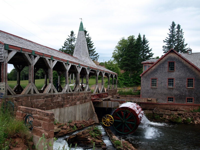 old-Bagnall-mill-and-bridge-with-wheel-turning