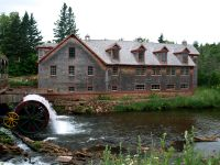 Hunter-River-Grist-Mill-with-wheel-turning