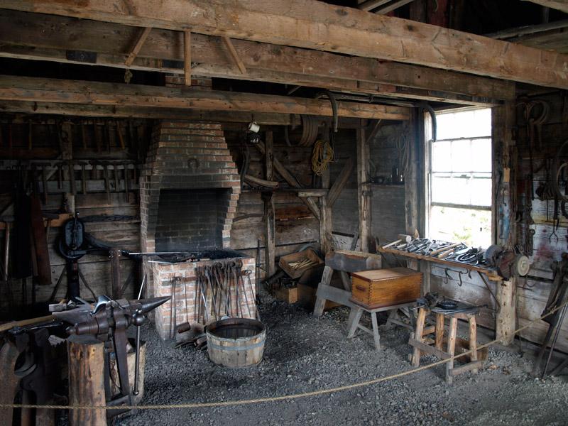blacksmith-forge-Historic-Acadian-Village-Pubnico-NS