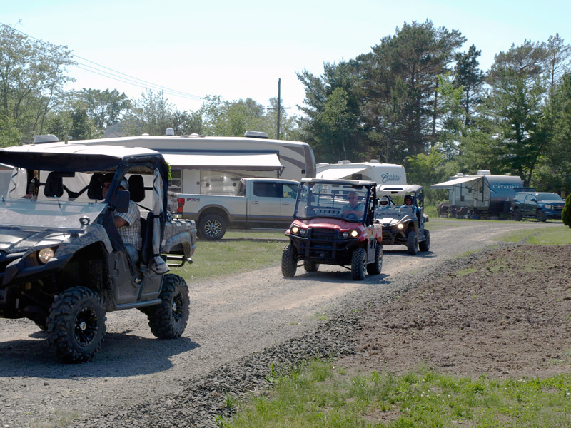 ATVs-back-from-a-trip-Bridgetown--Family-Campground