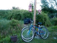 -bikes-ready-for-old-rails-trail-Bridgetown-Nova-Scotia-